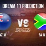NZ-W vs SA-W Dream11 Prediction, Live Score & New Zealand Women vs South Africa Women Cricket Match Dream11 Team: 5th T20I