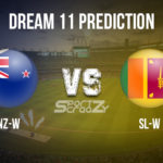 NZ-W vs SL-W Dream11 Prediction, Live Score & New Zealand women vs Sri Lanka women, Cricket Match Dream11 Team: ICC Women's World Cup 2020