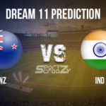 NZ vs IND Dream11 Prediction, Live Score & New Zealand v India Dream11 Team: India Tour of New Zealand 2020