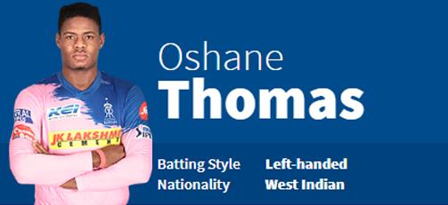 Oshane Thomas
