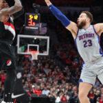 POR vs DET Dream11 Prediction, Live Score & Portland Trail Blazers vs Detroit Pistons Basketball Match Dream Team: NBA 2019-20 Regular Season