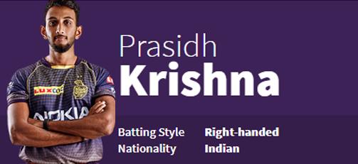 Prasidh Krishna