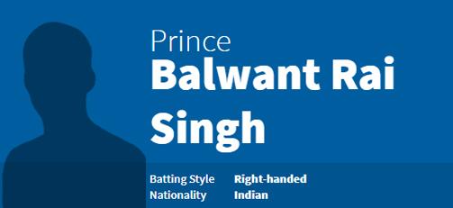 Prince Balwant Rai Singh