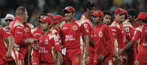 RCB in IPL 2008