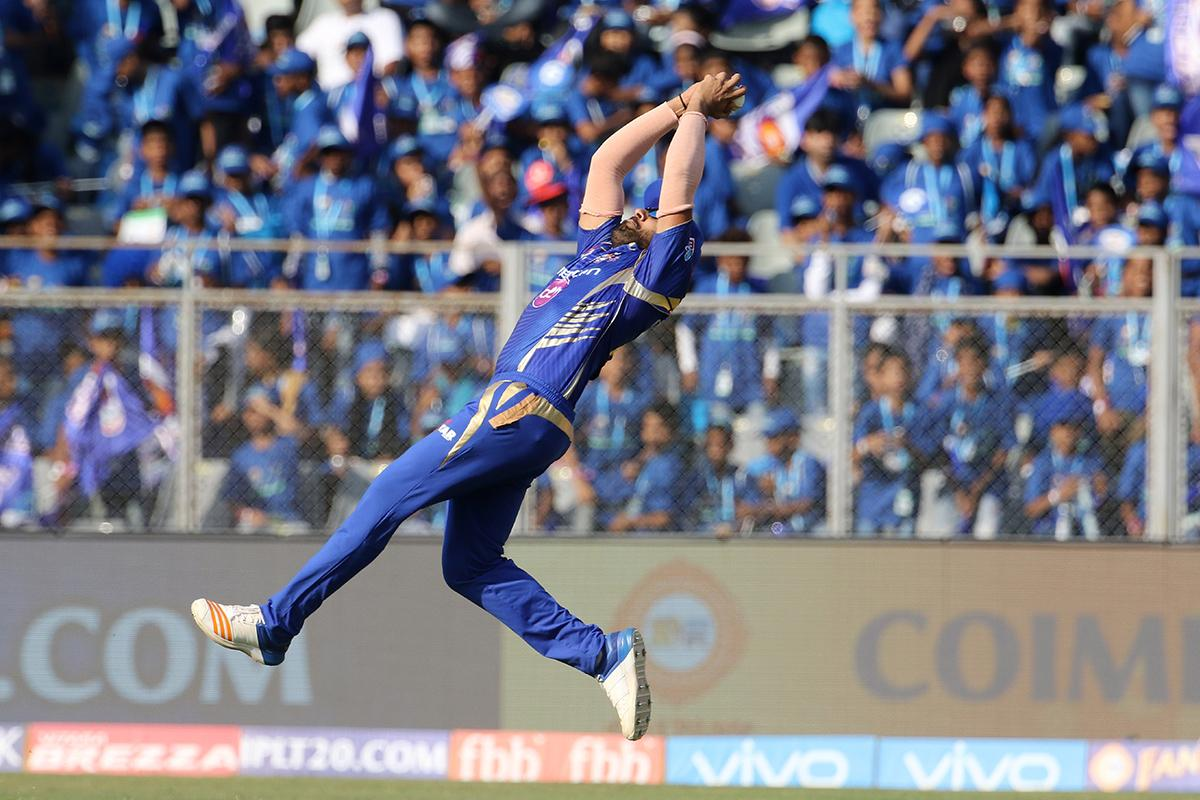 Most Catches For MI - Players with Highest Number of Catches for MI