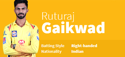 Ruturaj Gaikwad