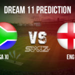 SA-XI vs ENG Dream11 Prediction, Live Score & South Africa XI vs England Cricket Match Dream11 team: 2nd One Day Practice Match
