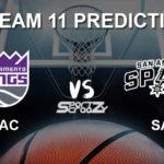 SAS vs SAC Dream11 Prediction, Live Score & San Antonio Spurs vs Sacramento Kings Basketball Match Dream Team: NBA 2019-20 Regular Season