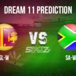 SL-W vs SA-W Dream11 Prediction, Live Score & Sri Lanka Women vs South Africa Women Dream11 Team: Women's T20 World Cup warm-up