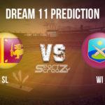 SL vs WI Dream11 Prediction, Live Score & Cricket Match Dream11 Team: West Indies Tour of Sri lanka 2020 1st ODI