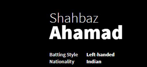 Shahbaz Ahamad