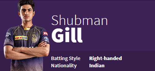 Shubman Gill