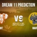 MT vs MWR Dream11 Prediction, Live Score & Matabeleland Tuskers vs  Mid West Rhinos Dream11 Team: Pro50 Championship 2020