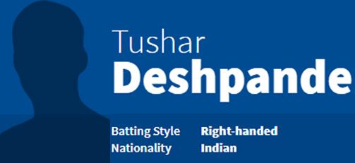 Tushar Deshpande