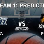 UTA vs PHX Dream11 Prediction, Live Score, Utah Jazz vs Phoenix Suns Basketball Match Prediction & Dream11 Team: NBA 2019-20 Regular Season