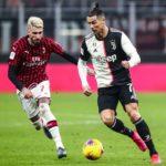 Cristiano Ronaldo saves the blushes for Maurizio Sarri in the first leg of the Coppa Italia semfinal