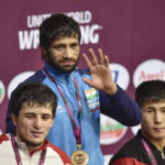 Asian Wrestling Championships: Ravi Dahiya wins gold, Bajrang Punia settles for silver