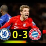 Bayern Munich thrash Chelsea at Stamford Bridge