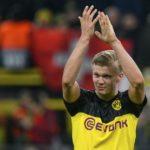 Erling Haaland brace sees Dortmund down PSG 2-1 at home