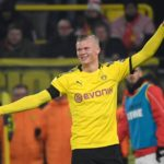 Borussia Dortmund striker Erling Braut Haland speaks about his recent performance