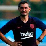 Barcelona defender takes a possible dig at Ernesto Valverde