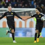 Axel Witsel hails Erling Haaland in their over PSG