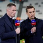Jamie Carragher takes a dig at Gary Neville in a comical tweet war