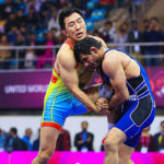 Jitender Kumar closing the door on Sushil's olympic dream with a silver at Senior Asian Wrestling Championship