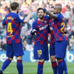 Lionel Messi's four sinks Eibar in La Liga