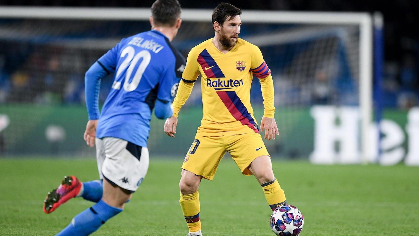 Napoli v Barcelona - UEFA Champions League