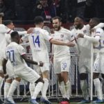 Lyon shock Juventus and Maurizio Sarri in the first leg of round of 16