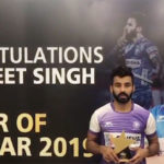 Manpreet Singh becomes first Indian to win FIH Men's Player of the Year award