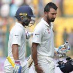 Rahane comes to Pujara's rescue after slow innings in 1st Test