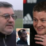 Mino Raiola vent out his anger against Gary Neville and slams Ole Gunnar Solskjaer