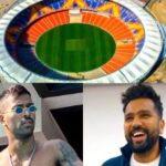Rohit Sharma and Hardik Pandya cannot wait to play at the Motera Stadium