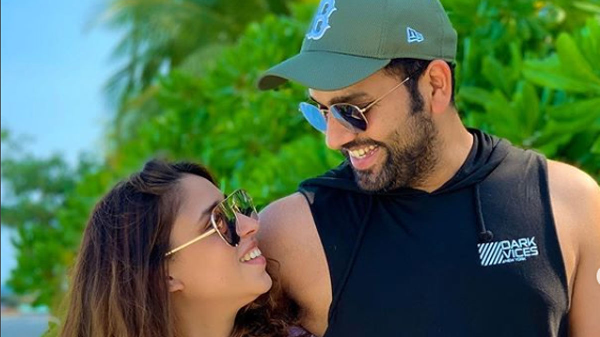 rohit-sharma and ritika