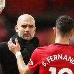 United midfielder exchanges furious gesture with Manchester City manager