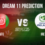 AFG vs IRE Dream11 Prediction, Live Score & Afghanistan vs Ireland Cricket Match Dream11 Team: 1st T20I - 2020