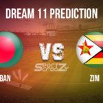 BAN vs ZIM Dream11 Prediction, Live Score & Bangladesh Vs Zimbabwe Cricket Match Dream11 Team: Zimbabwe tour of Bangladesh 2020 2nd ODI