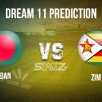 BAN vs ZIM Dream11 Match Prediction, Live Score & Bangladesh Vs Zimbabwe Cricket Match Dream11 Team: Zimbabwe tour of Bangladesh 1st T20I 2020