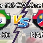 IND-50 vs NAM-50 Dream11 Prediction, Live Score & India Over-50s Vs Namibia Over-50s, Cricket Match Dream11 Team: Over-50s World Cup 2020, 24th match