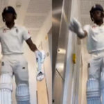 England's Jofra Archer gives the message of staying indoors via a humorous video on TikTok