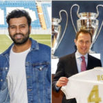 Rohit Sharma Gifted Customised Real Madrid Jersey on his visit to Witness El Clasico