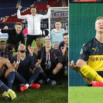 Mbappe, Neymar and the PSG squad mock Haaland's celebration after win in the Champions League