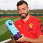 Bruno Fernandes wins the Premier League player of the Month