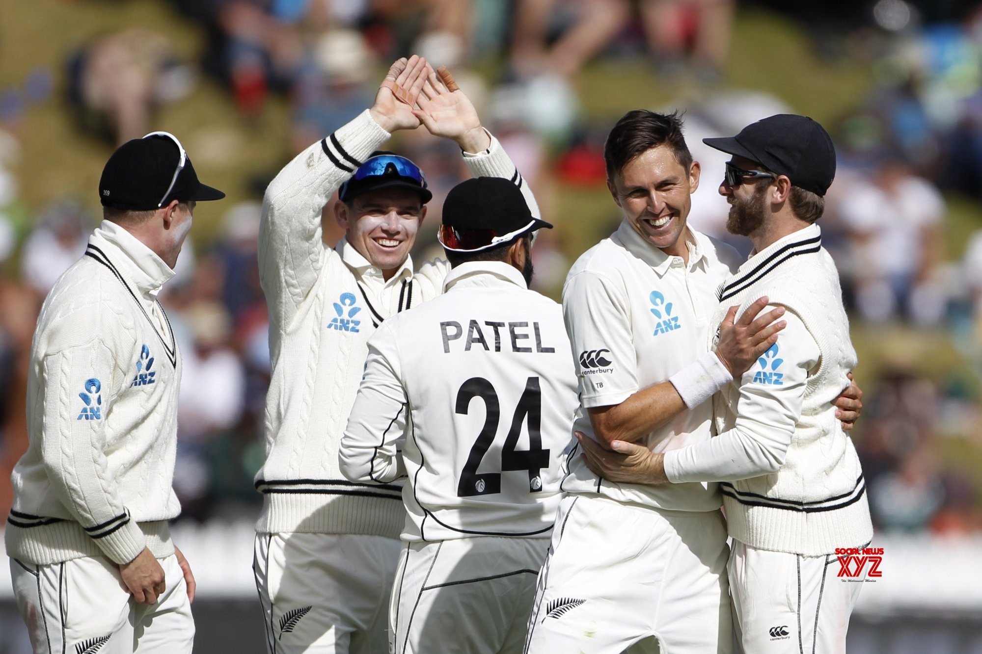 nz beats india in 2nd test