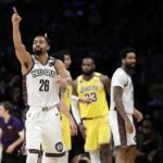 Brooklyn Nets stun Los Angeles Lakers at the Staples Center