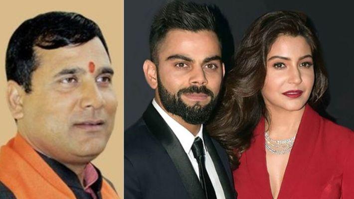 BJP MLA wants Virat Kohli to divorce Anushka Sharma for this reason