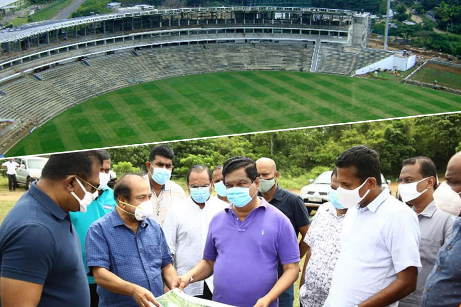SLC suspends the construction of the world's biggest cricket stadium project
