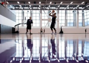 Sacramento Kings Practice facility